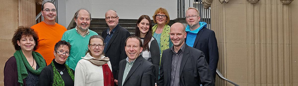 Die Grünen Wuppertal Ratsfraktion Gruppenbild